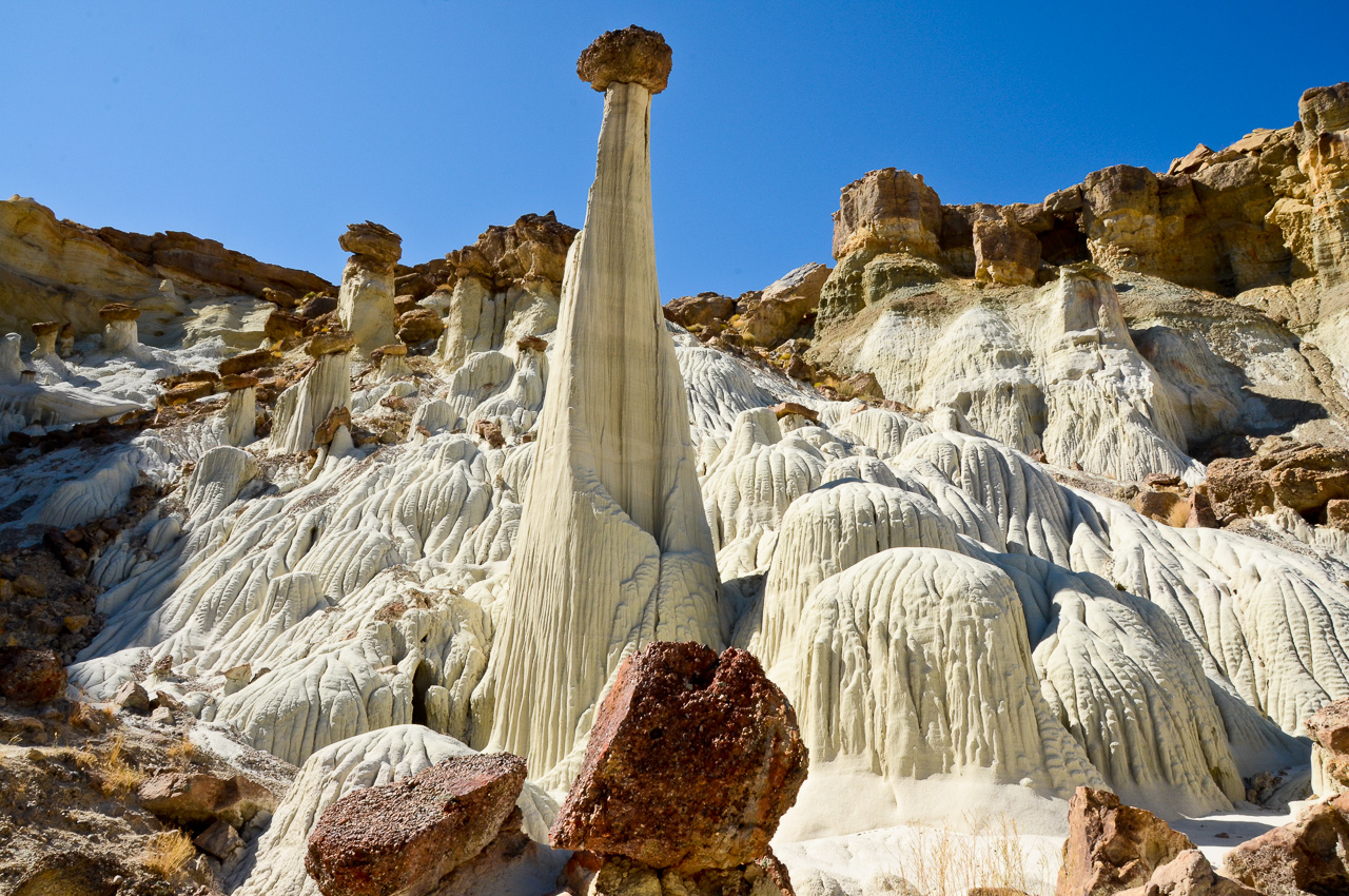 White Ghost - Wahweap Hoodoos, Grand Staircase Escalante National Monument, Utah