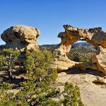 Horizon-Arch-Kissing-Dragon-Arch-Grand-Staircase-Escalante-National-Monument-Escalante-Utah-3 Horizon Arch - Kissing Dragon Arch