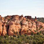 Double-Barrel-Arch-Vermilion-Cliffs-National-Monument-Arizona-6 Double Barrel und Yoghurt Cone Arch