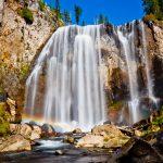 Dunanda Falls - Yellowstone - Bechler Area - Wyoming