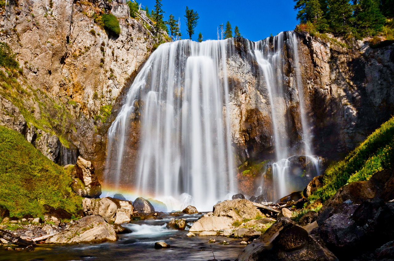 Dunanda Falls - Yellowstone - Bechler Area - Wyoming