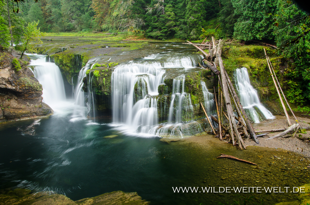 Lower Lewis River Falls - Lewis River Recreation Area, Gifford-Pinchot National Forest, Washington