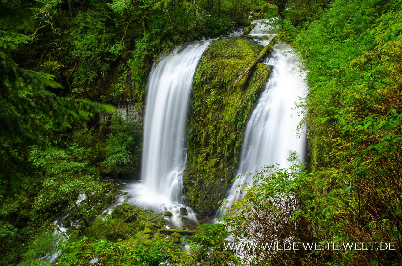 Upper McCord Creek Falls - Columbia River Gorge, Oregon
