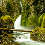 Wahclella Falls - Columbia River Gorge, Oregon
