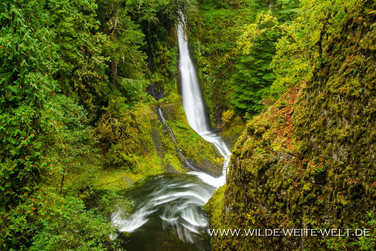 Loowit Falls - Eagle Creek, Columbia River Gorge, Oregon