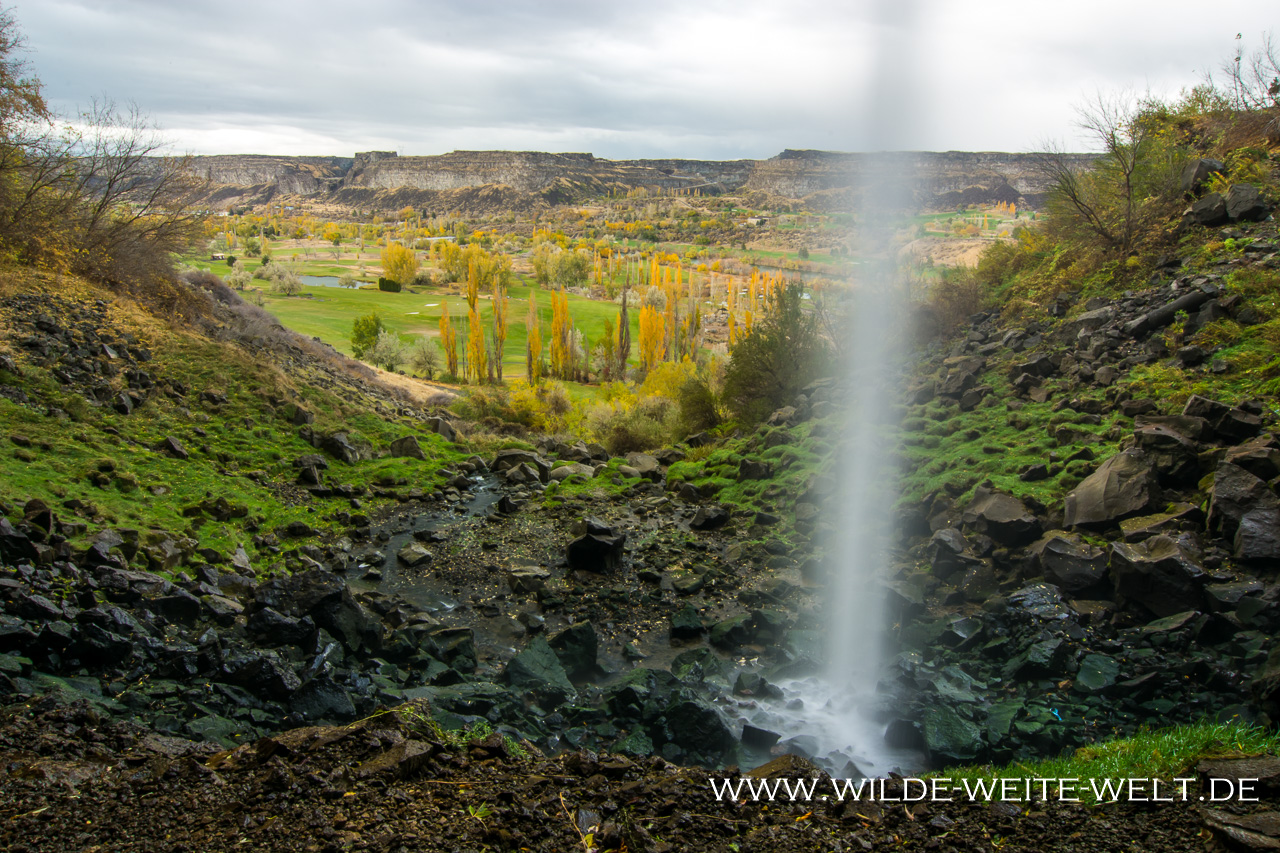 Perrine Coulee Falls - Thousand Springs Scenic Byway, Twin Falls, Idaho