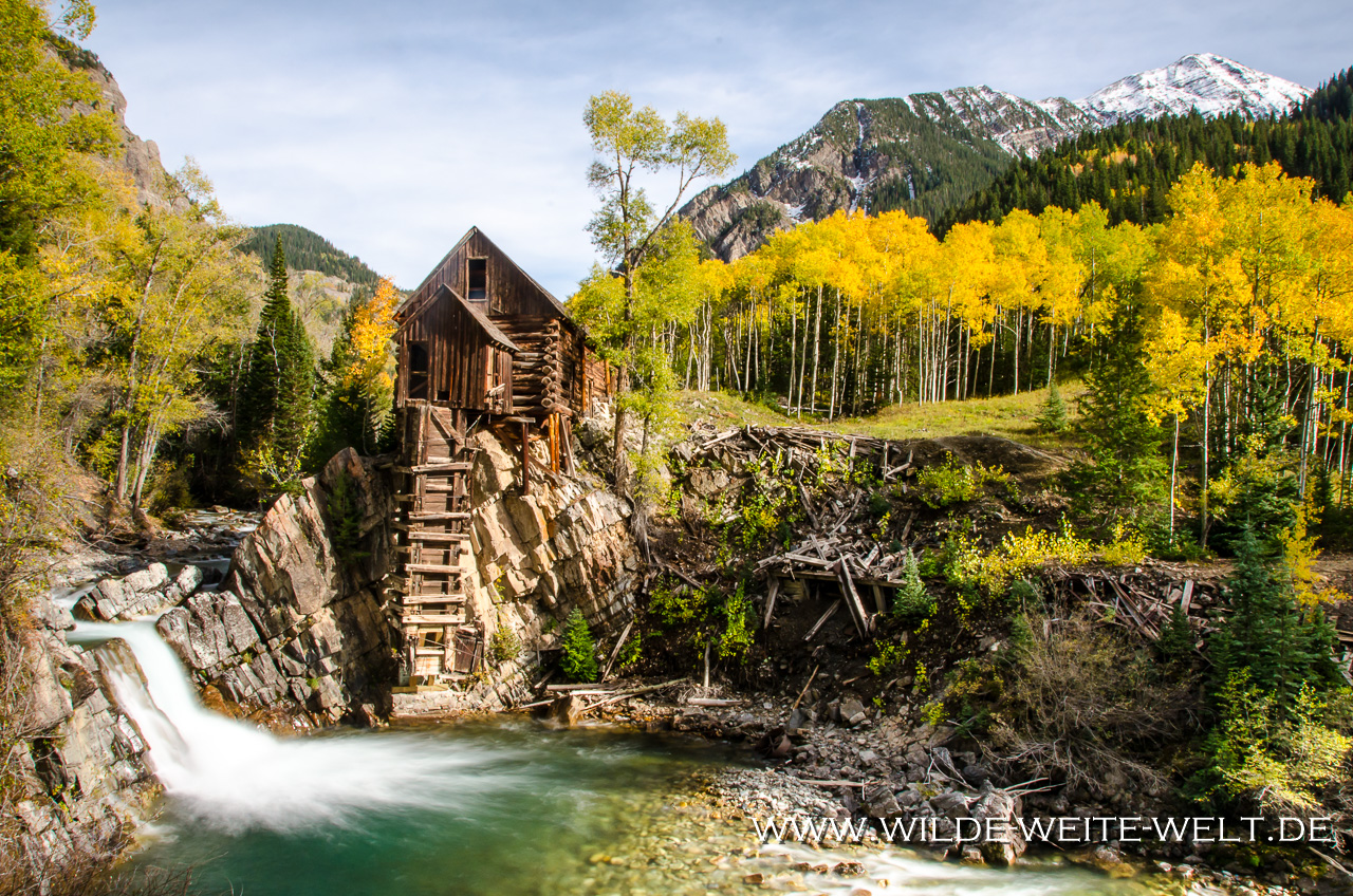 Crystal Mill - White River National Forest - Marble - Colorado
