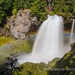 Sahalie Falls - McKenzie River, Willamette National Forest, Oregon