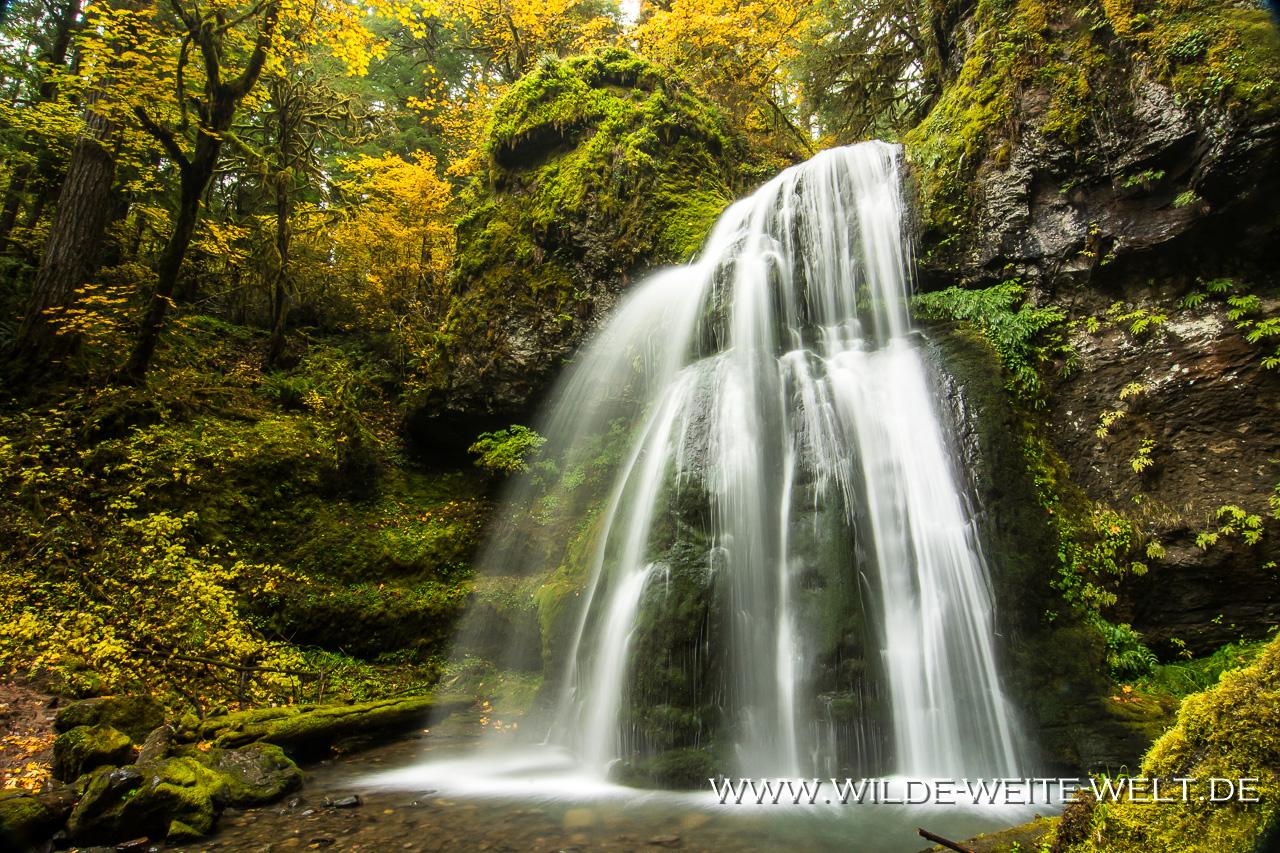 Spirit Falls - Row River Area, Umpqua National Forest, Oregon