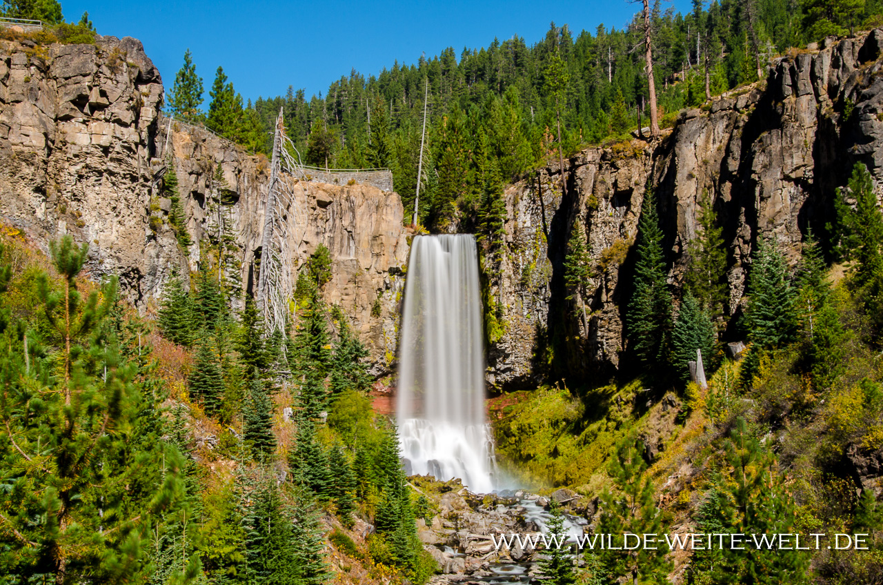 Tumalo Falls - Deschutes National Forest, Bend, Oregon
