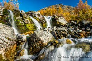 Wasserfall-am-Kungsleden-Stora-Sjoefallets-Nationalpark-Lappland-Schweden-300x200 Wasserfall am Kungsleden