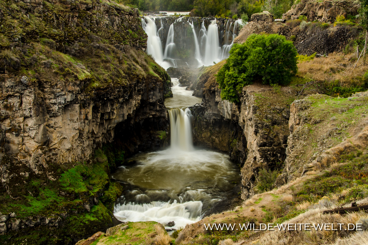 White River Falls - White River Falls State Park, Tygh Valley, Oregon
