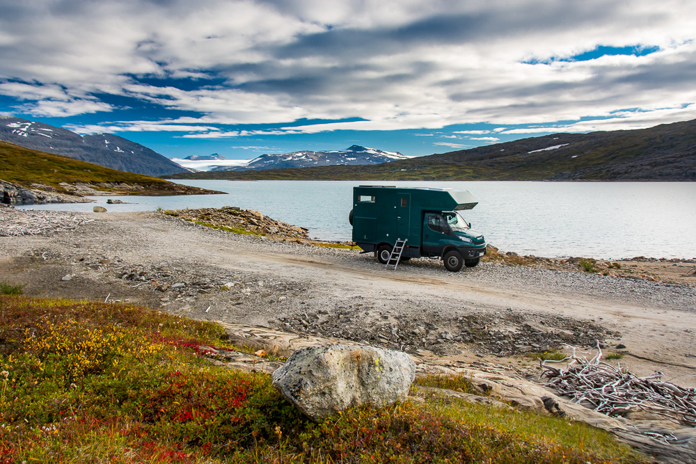 Willy-03-Stora-Sjöfallets-Lappland Iveco Daily 4 x 4: Willy, our Rolling Home - RV - Camper