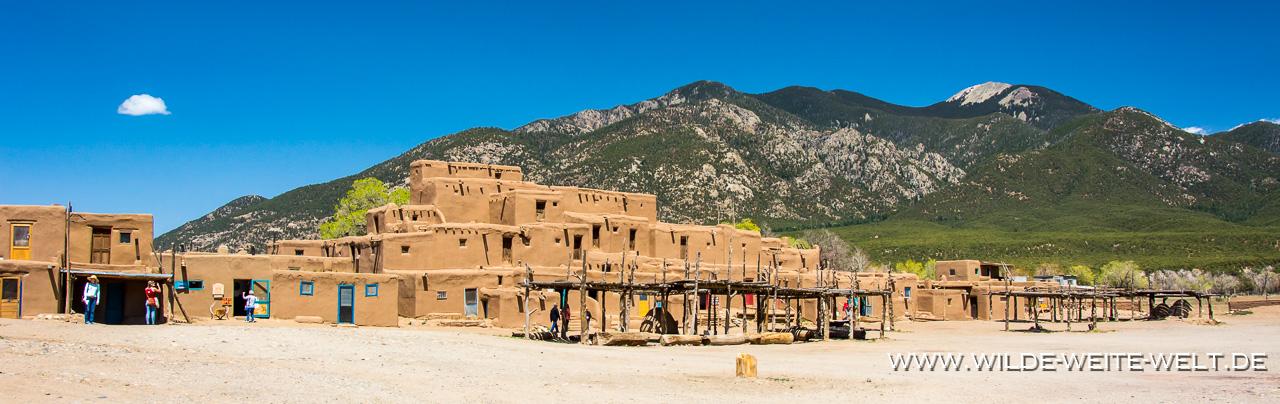 Taos-Pueblo-Taos-New-Mexico-5 Cliff Dwellings & Pueblos & Missions [New Mexico]