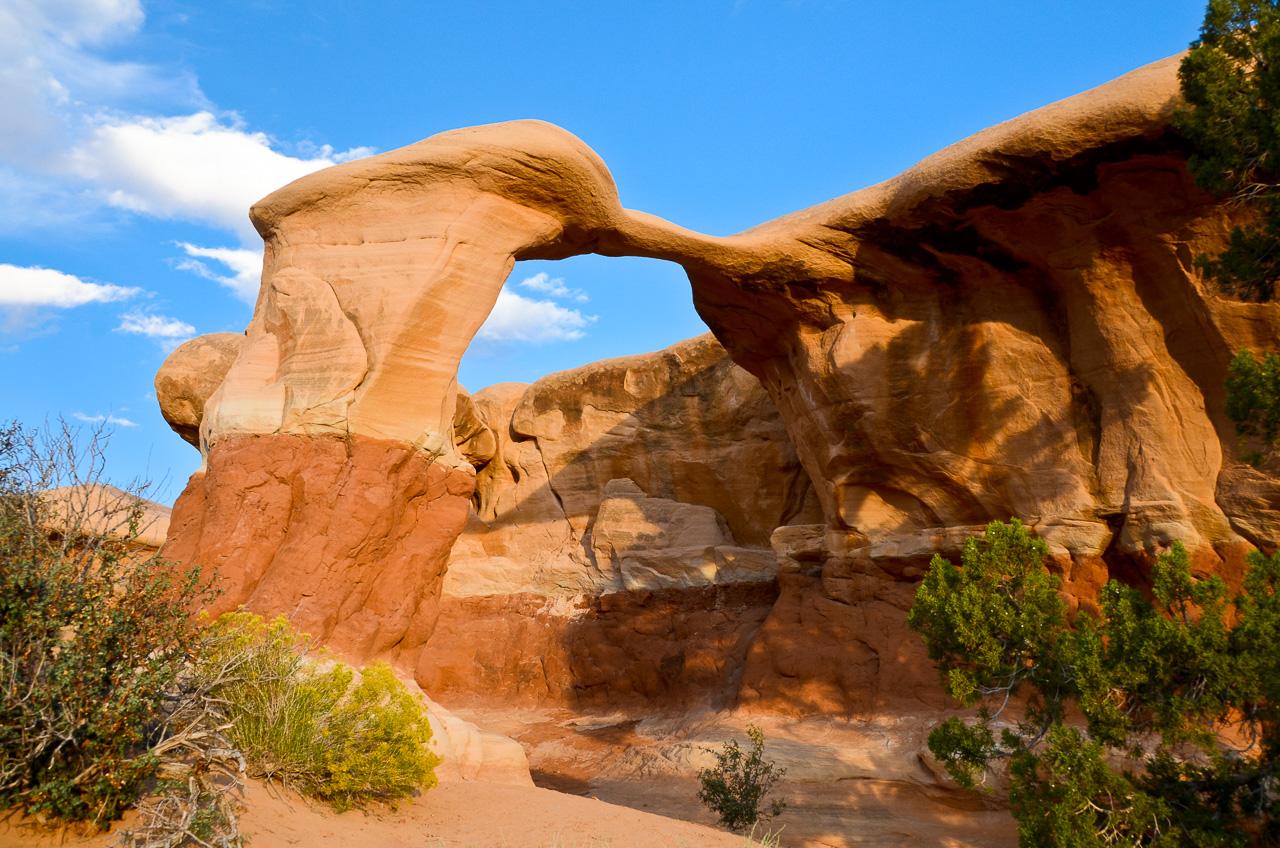 Metate-Arch-Devils-Garden-Hole-in-the-Rock-Road-Grand-Staircase-Escalante-National-Monument-Utah-4 Metate & Mano Arch im Devil's Garden [Utah]