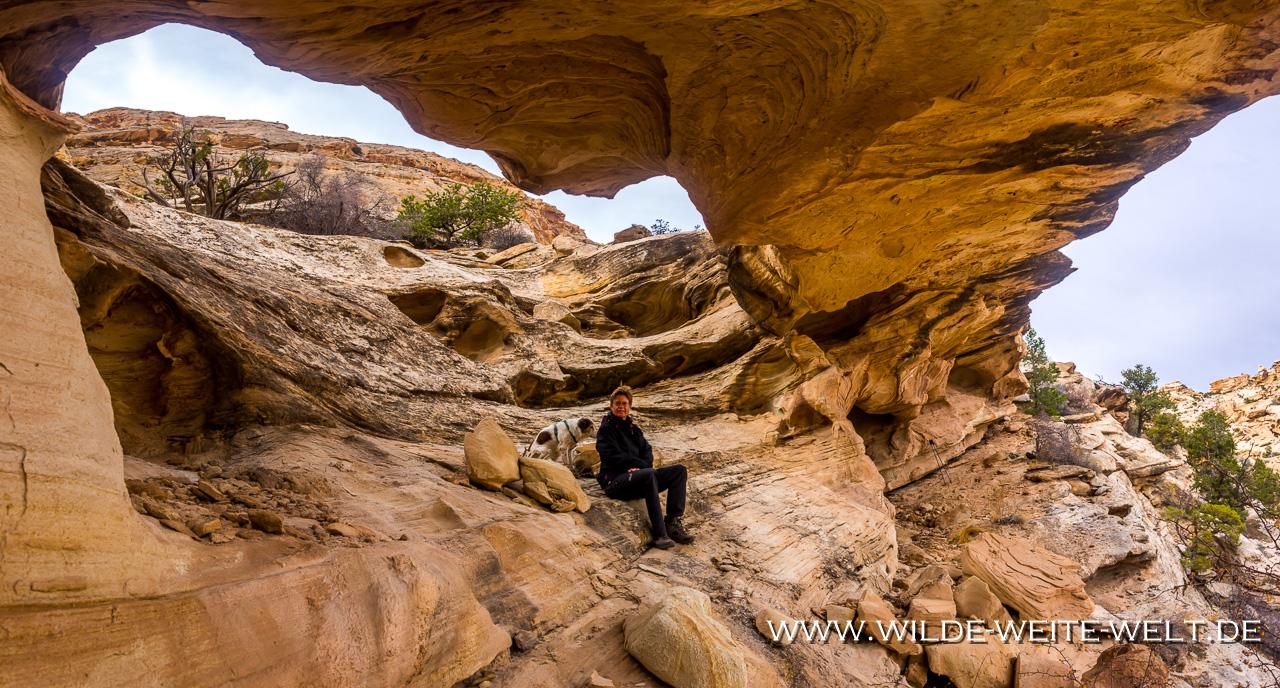 Wild-Horse-Canyon-San-Rafael-Swell-Utah-4 Wild Horse Canyon Natural Bridge [Utah]
