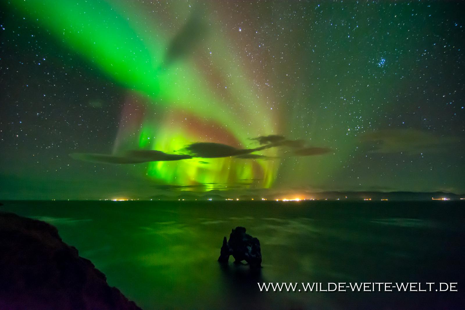 Aurora-Borealis-Jökulsarlon-1-Island-149-1024x683 Iceland's Aurora Borealis - Northern Lights on Iceland - Nordlichter Island