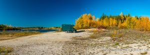 bernachtungsplatz-Gravel-Pit-Mackenzie-Highway-Northwest-Territories-2-300x111 Übernachtungsplatz