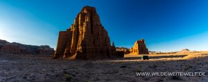 bernachtungsplatz-Lower-Cathedral-Valley-Capitol-Reef-National-Park-Utah-300x119 Übernachtungsplatz