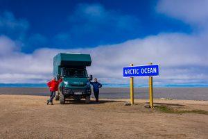 Northernmost-Point-at-Arctic-Ocean-Tuktoyaktuk-Northwest-Territories-300x200 Northernmost Point at Arctic Ocean