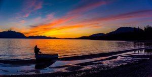 Sunset-Atlin-Lake-British-Columbia-300x152 Sunset