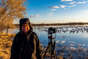Tanja-Photographing-Bosque-del-Apache-National-Wildlife-Refuge-San-Antonio-New-Mexico-300x200 Tanja Photographing